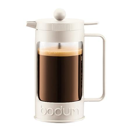 Bodum 11375-913 Cafetera émbolo, Blanco crema: Amazon.es: Hogar