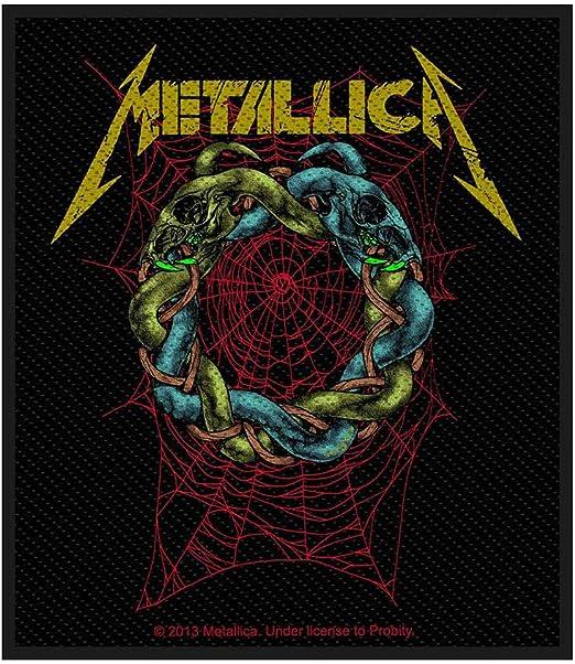 Metallica Tangled Web Patch 8cm x 10cm