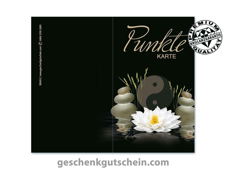 100 Stk. Punktekarten für Kosmetik, Massage, Wellness und Spa MA455 B0759T8PWF | Elegante Und Stabile Verpackung