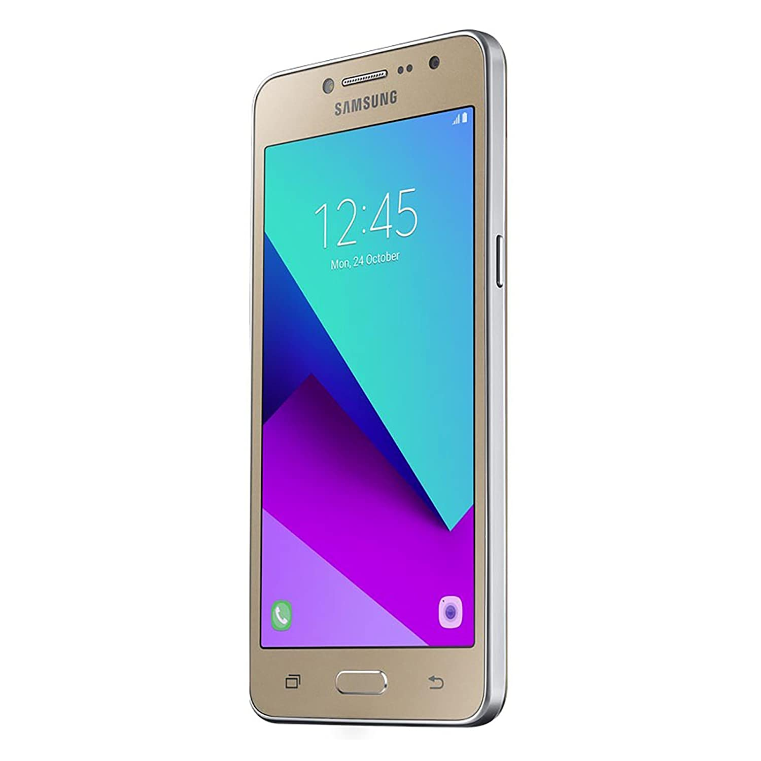 Samsung Galaxy J2 Prime 2016 Unlocked SM-G532M Duos 4G LTE US & Latin Bands (Gold) - International Version