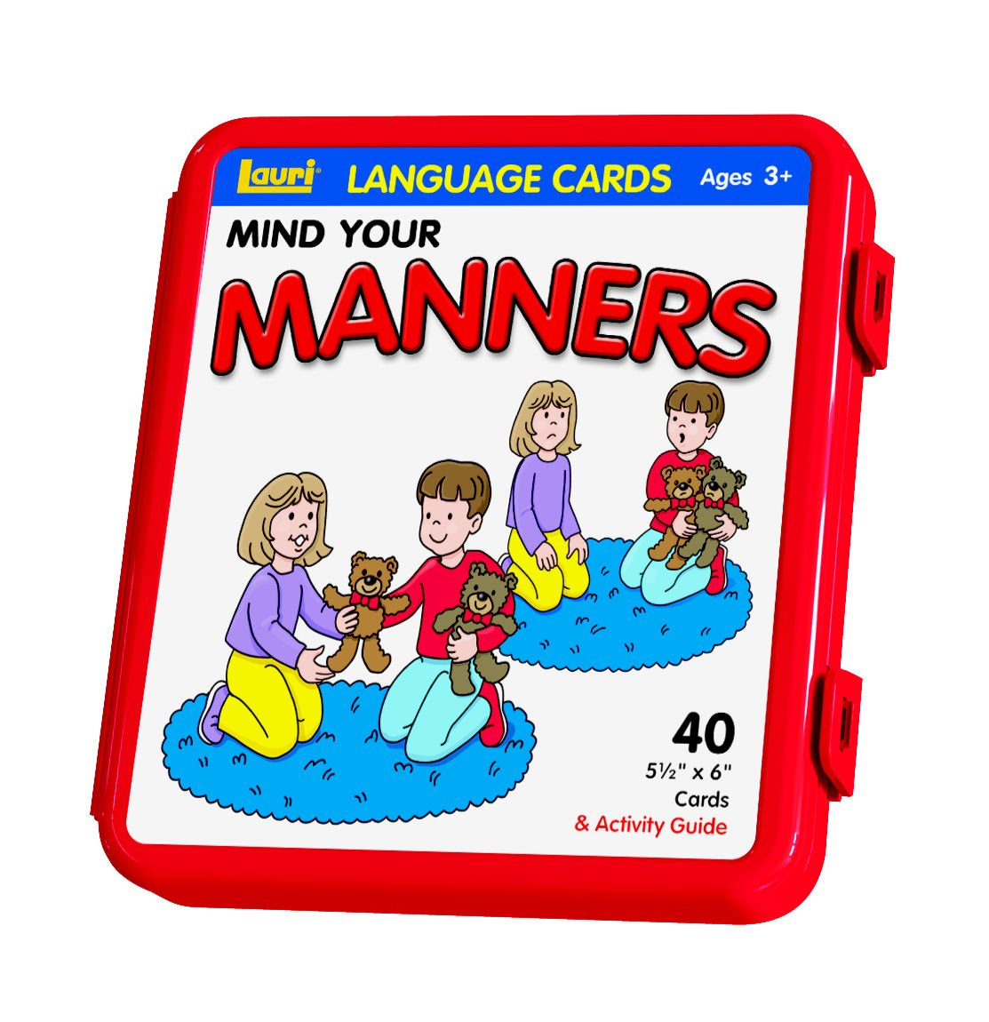 PlayMonster Lauri Photo Language Cards - Mind Your Manners