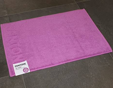 Bassetti tappeto bagno pantone by radiant orchid viola cm
