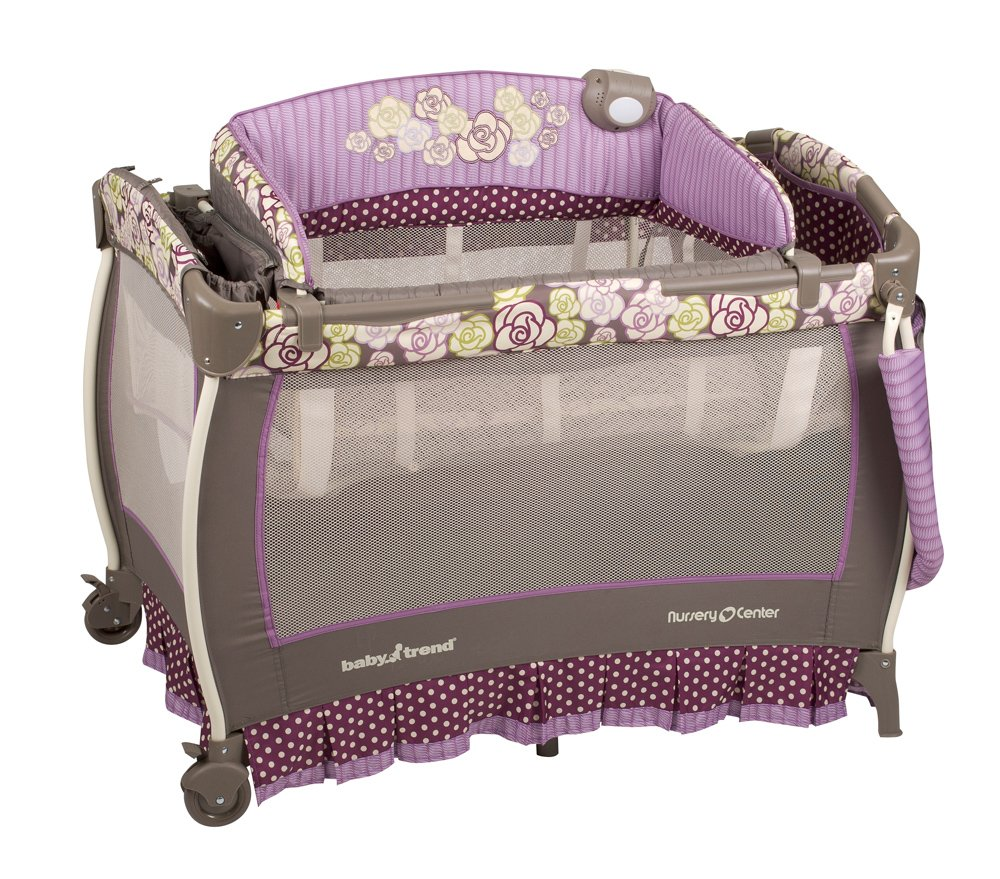Amazon.com: Baby Trend Deluxe Nursery rosas, color Center ...