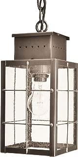 product image for Brass Traditions 422 SHDB Medium Hanging Lantern 400 Series, Dark Brass Finish 400 Series Hanging Lantern