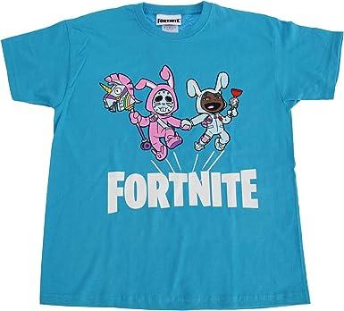 Fortnite - Camiseta Infantil de Manga Corta: Amazon.es: Ropa y ...