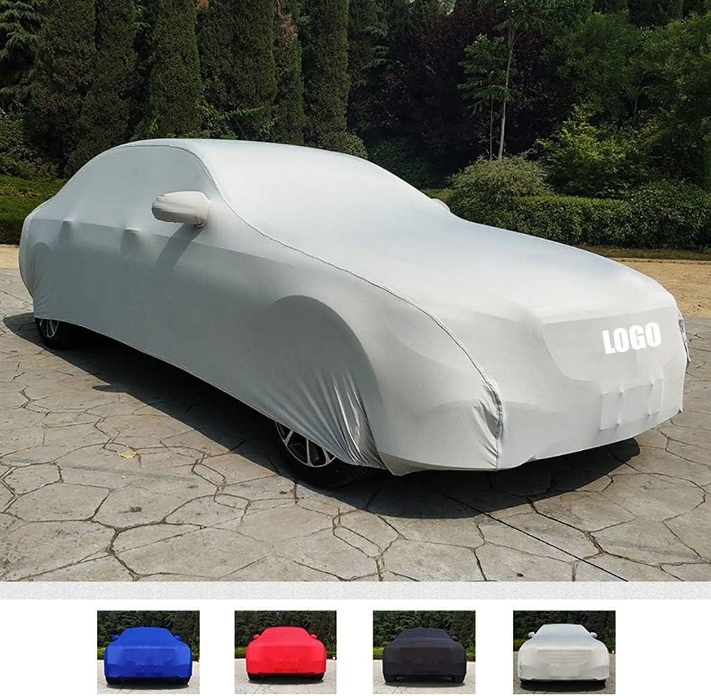 ボディーカバー 車のカバーHYUNDAIマトリクスに対応、スーパー滑らかでソフトストレッチ車のカバー、日焼け止め防塵スクラッチプルーフ (Color : D)