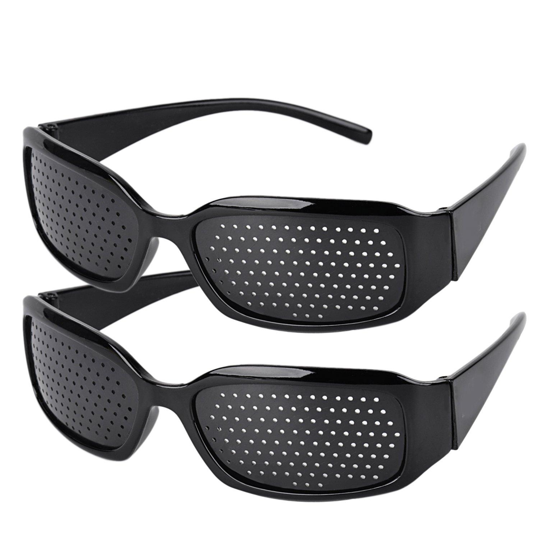 Fansport 2Pcs Vision Correction Glasses Vision Care Eyesight Improver Glasses
