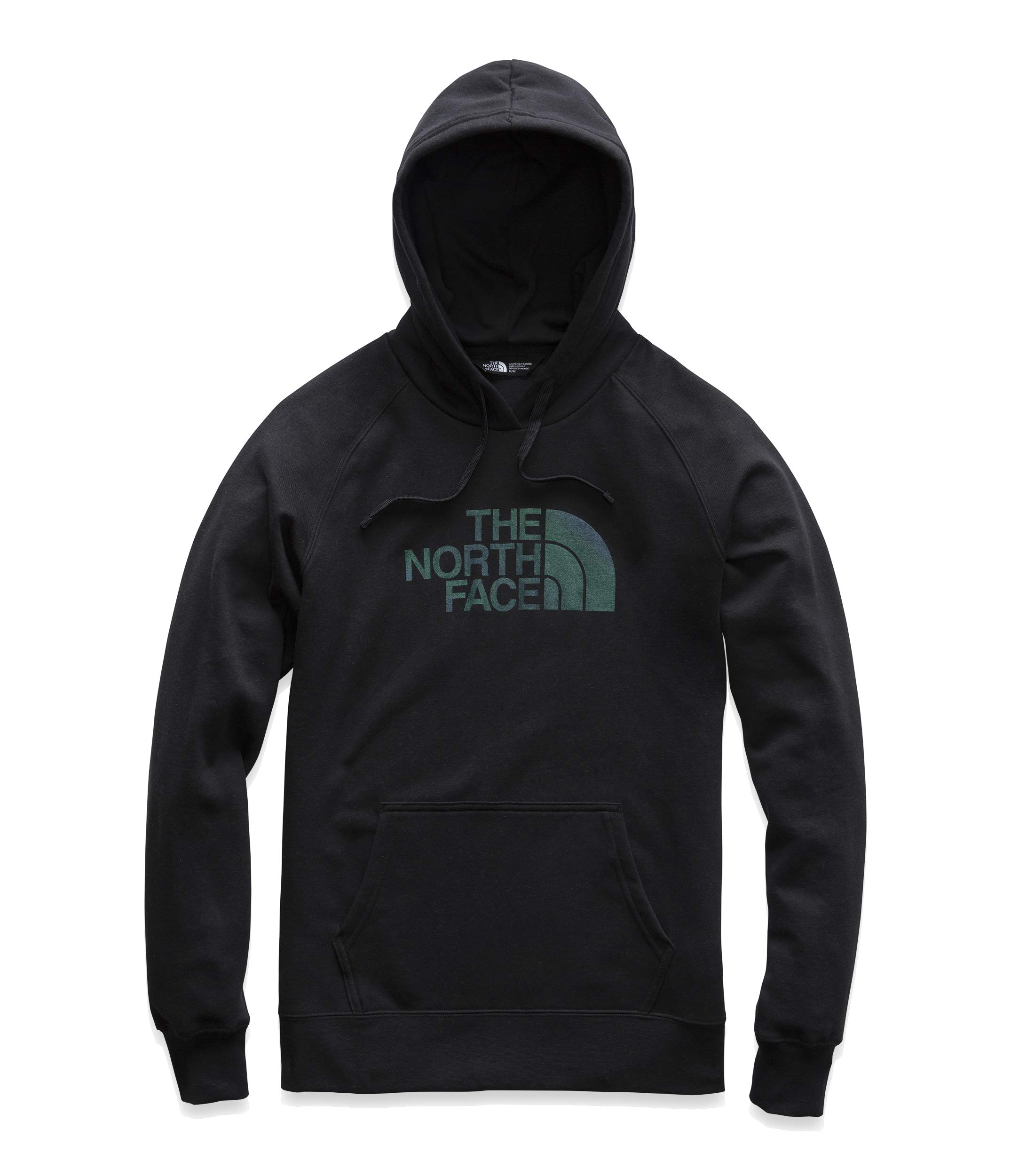 The North Face Women's Half Dome Pullover Hoodie, TNF Black/Iridescent Multi, Size M by The North Face