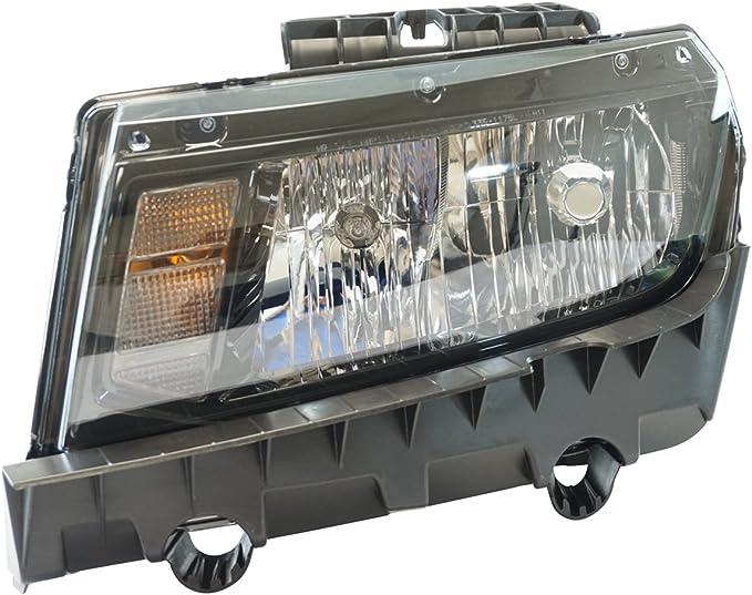 Halogen Headlight Lamp Driver Side LH LF for 14-15 Chevrolet Camaro Brand New