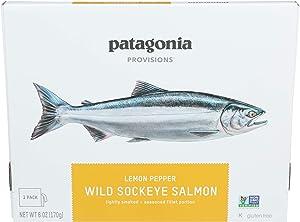 Patagonia Provisions, Sockeye Salmon Wild Lemon Pepper, 6 Ounce