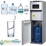Distriwater - Dispensador de agua fría o caliente. Fuente de agua con asa ergonómica, todo tipo de garrafas, para…