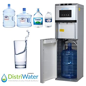 Distriwater - Dispensador de agua fría o caliente. Fuente de agua con asa ergonómica,