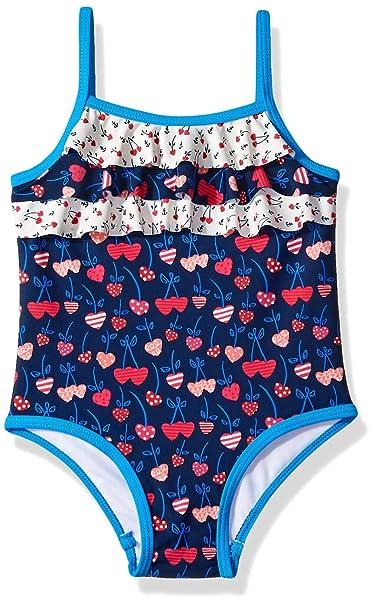 Amazon.com: KIKO & MAX Traje de baño de una pieza para niñas ...