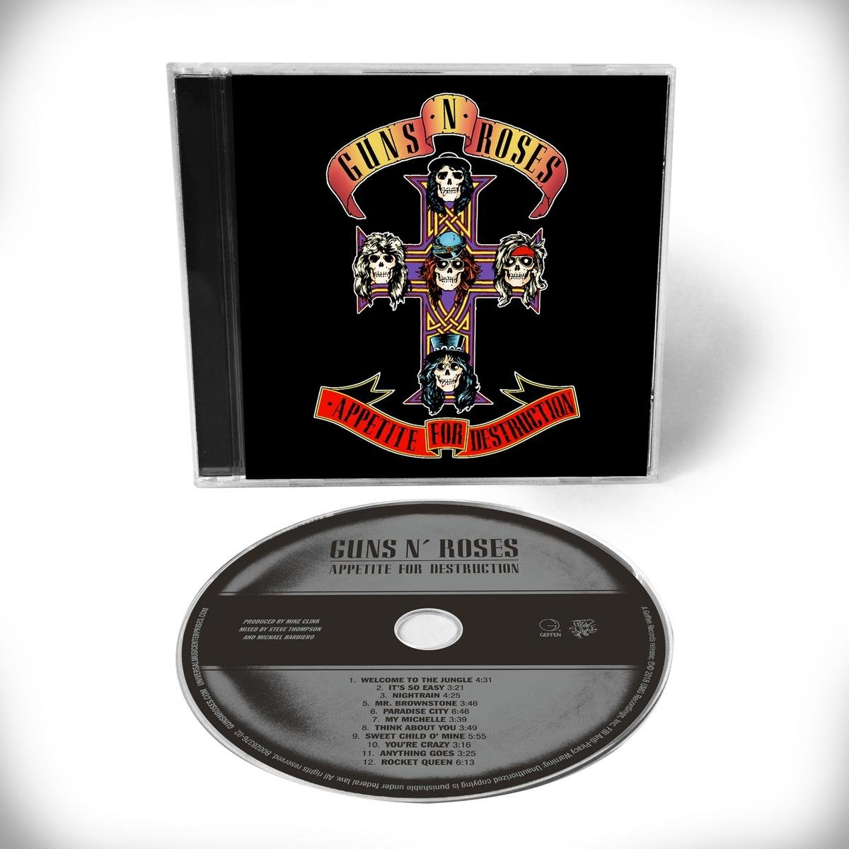 CD : Guns N Roses - Appetite For Destruction - Remaster (Remastered)