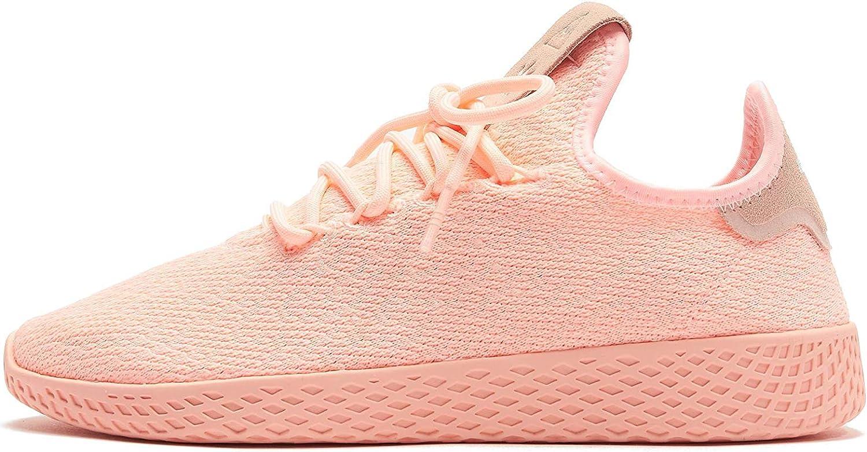 Adidas Mujer Pharrell Williams Tennis HU Zapatillas Rosa, 39 1/3