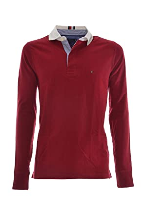 promo code de094 5f772 Tommy Hilfiger Herren Iconic Rugby Poloshirt