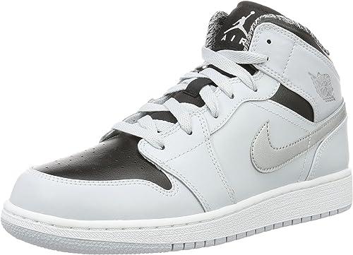 quality vast selection best loved Amazon.com | Nike Kids' Air Jordan 1 Mid Bg | Basketball