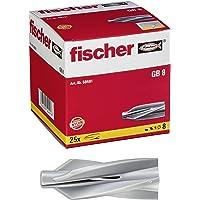 FISCHER plug voor gasbeton, maat GB 10, verpakking van 25 stuks