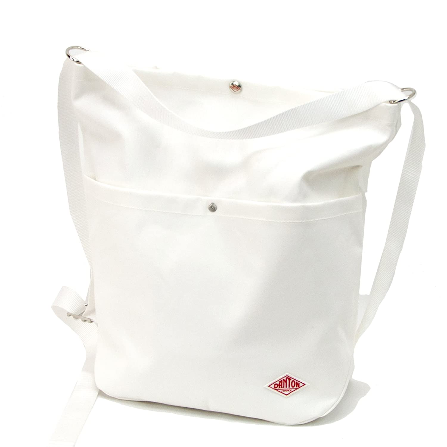 DANTON ダントン COTTON CANVAS 2WAY UTILITY BAG[JD-7092SCV] B07678QLL1 Off white Off white