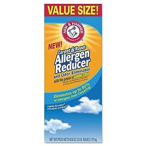 Arm & Hammer CDC 84113 42.6 oz Carpet And Room Allergen Reducer And Odor Eliminator, Shaker Box