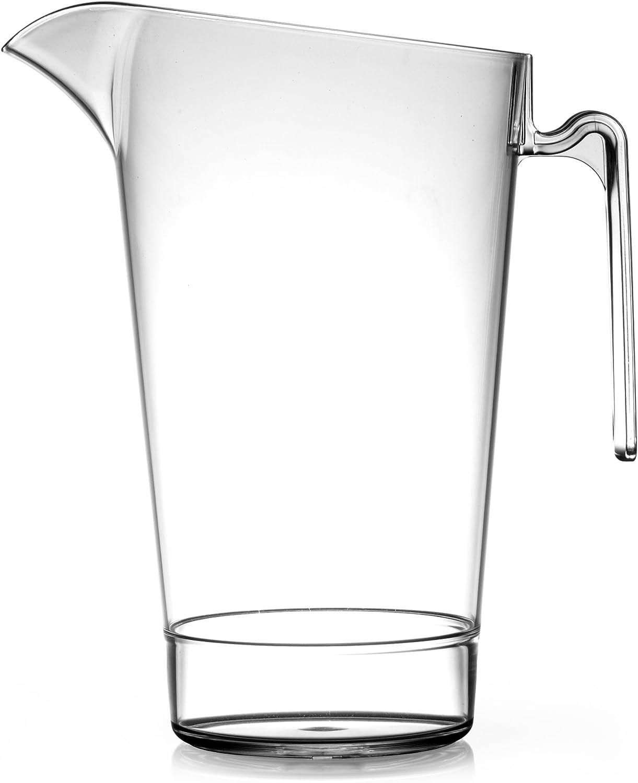 Elite In2stax 4 policarbonato amontonando jarra LCE 2,2 litros - 4 - juego de jarra de cerveza graduado