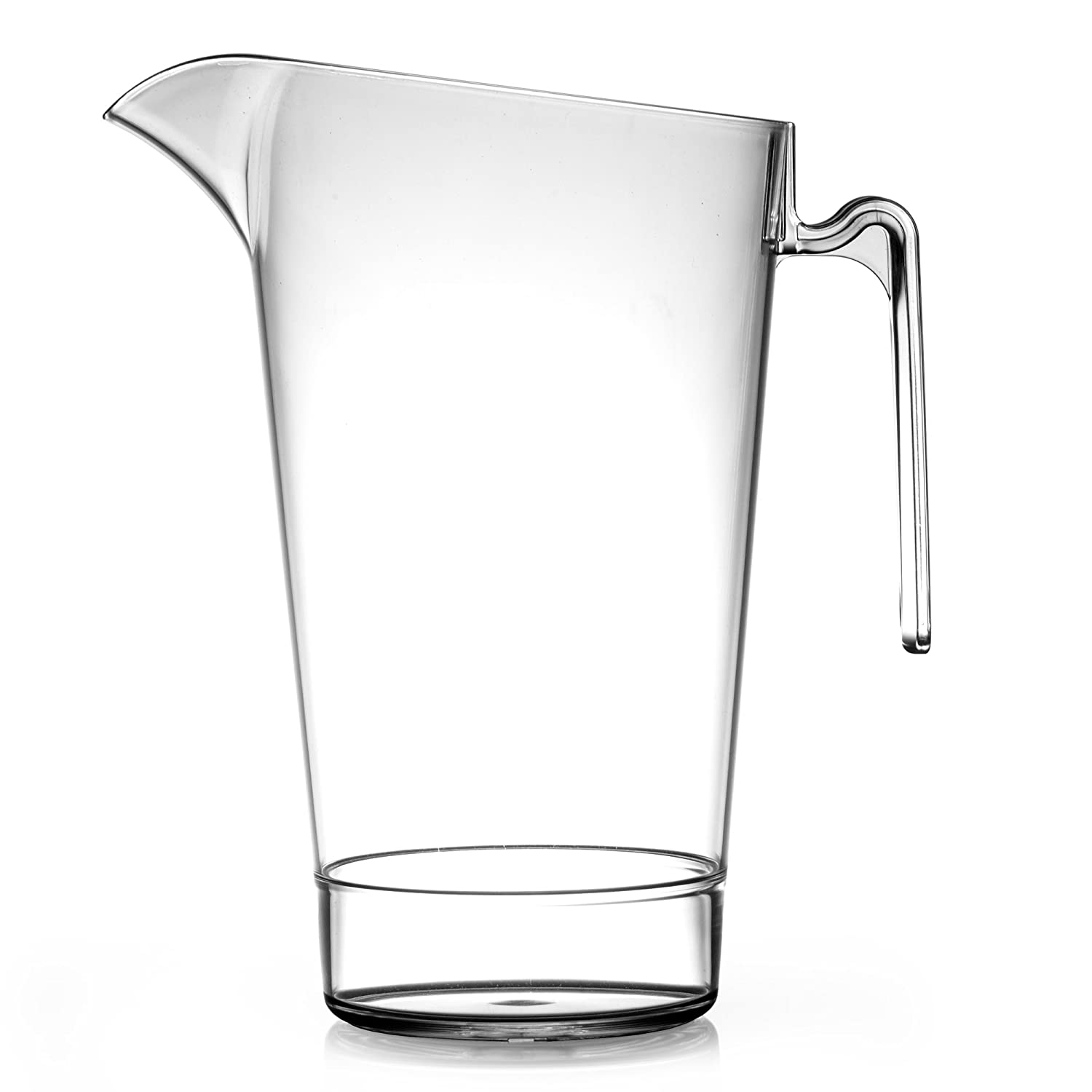 Elite In2stax 4 Pint Polycarbonate Stacking Jug LCE 2.2 Litre - Set of 4 - Graduated Plastic Beer Pitcher BBP Marketing Ltd