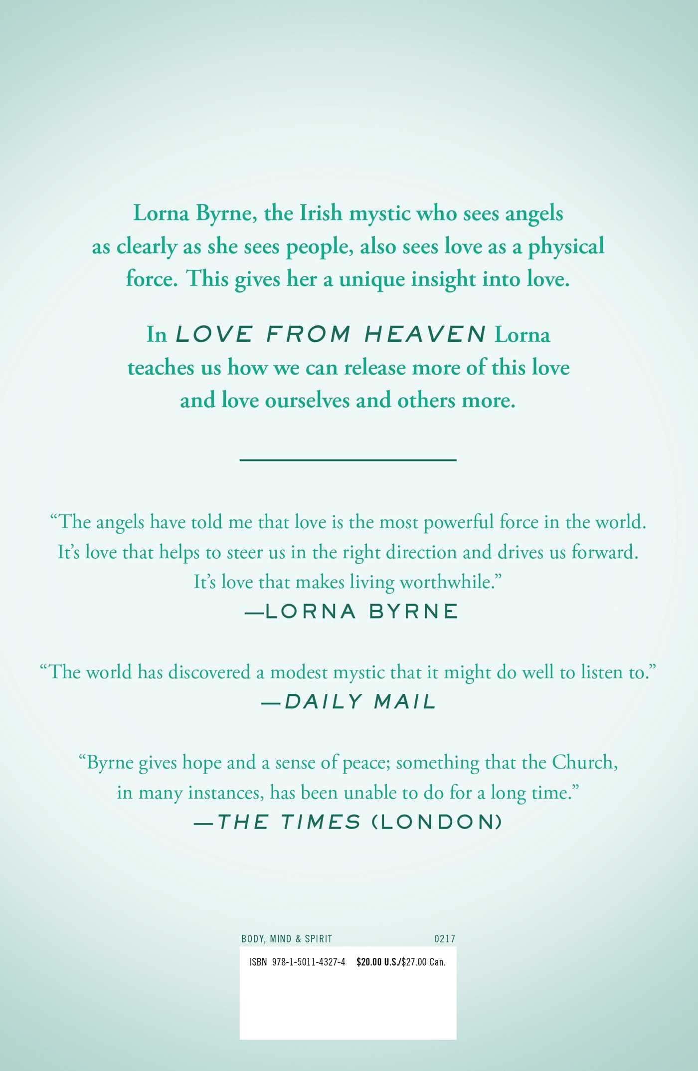 Love From Heaven: Practicingpassion For Yourself And Others: Lorna  Byrne: 9781501143274: Amazon: Books