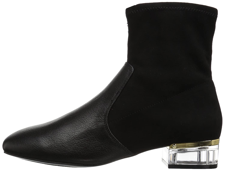 Nine West B01N3CT9PL Women's Urazza Fabric Ankle Boot B01N3CT9PL West 8 B(M) US|Black/Black e681f2