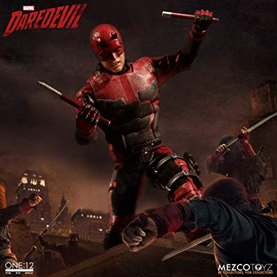 Mezco Toys One: 12 Collective: Marvel Netflix Daredevil Action Figure: Toys & Games