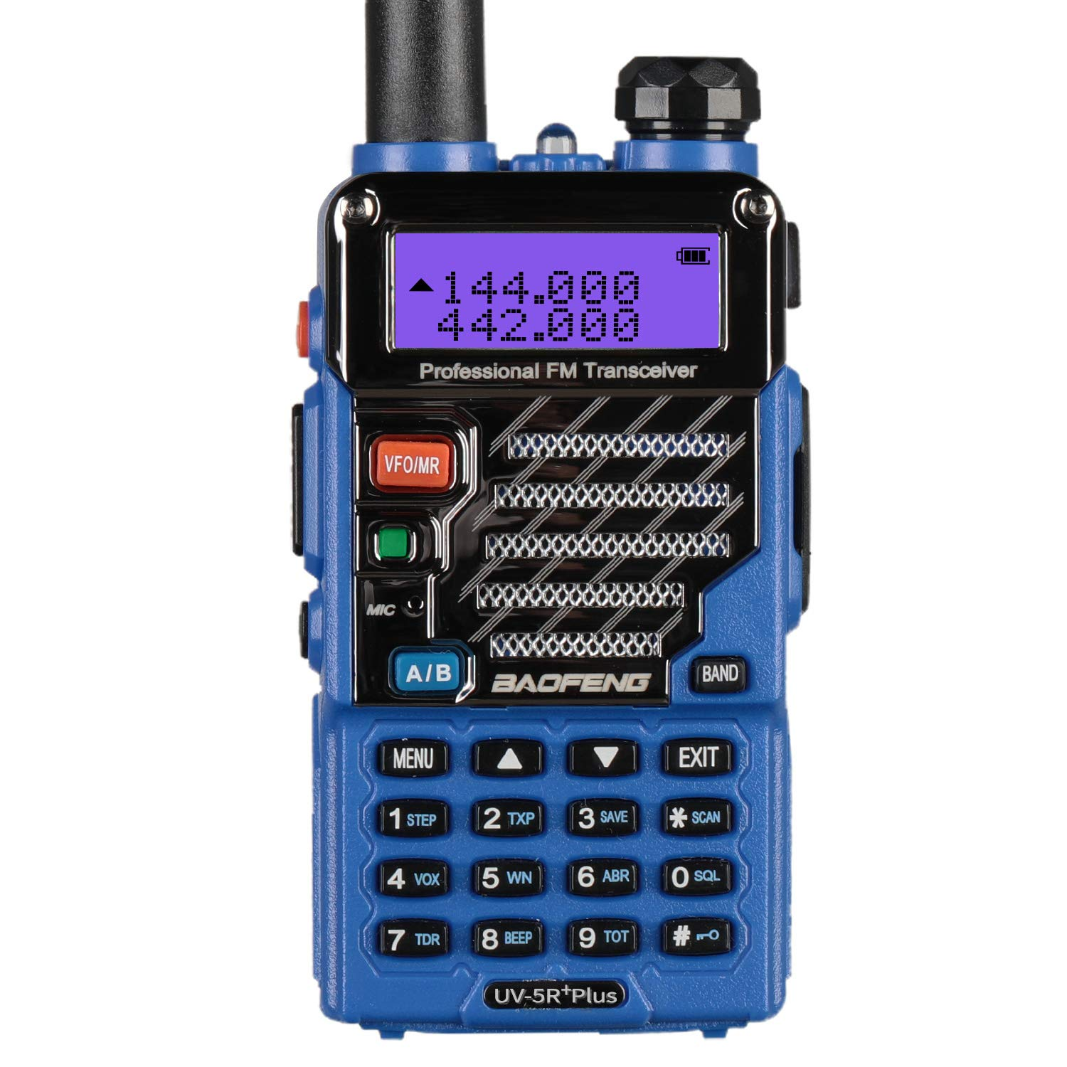 BaoFeng UV-5R Plus Qualette Two way Radio (Royal Blue) by BAOFENG