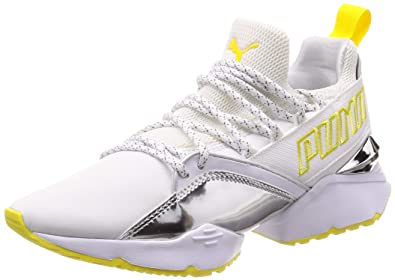 53ff6ff69646 Image Unavailable. Image not available for. Color  Puma Women s Muse Maia TZ  Metallic WN s Low-Top Sneakers ...