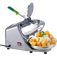 Koval Inc. Heavy Duty, Stainless Steel Ice Shaver, Snow Cone Machine, Electric Shaved Ice Machine
