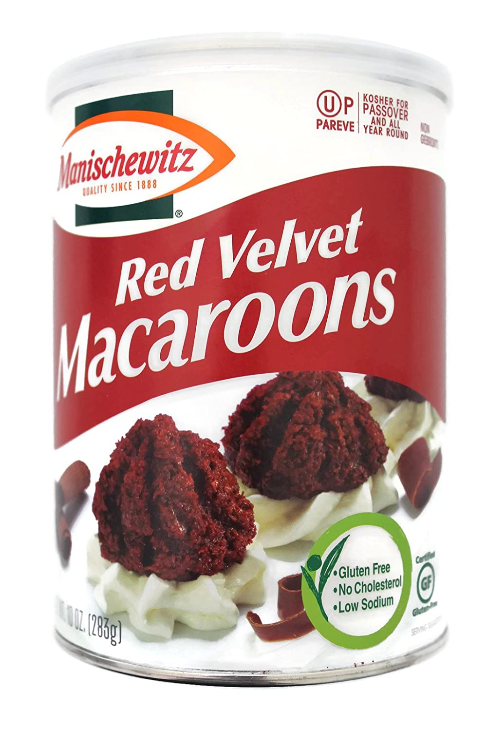 Image result for red velvet macaroons passover
