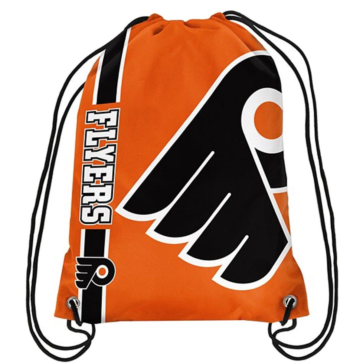 Official National Hockey League Fan Shop Authentic Drawstring NHL Back Sack (Philadelphia Flyers)