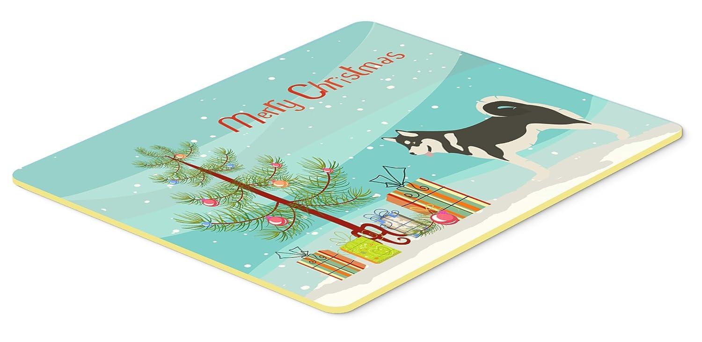 Carolines Treasures BB8486JCMT Alaskan Malamute Christmas Kitchen Mat 24Hx36W Multicolor