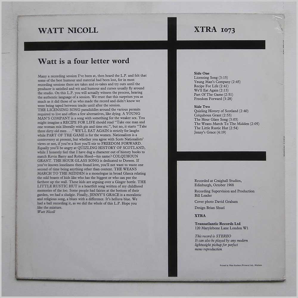 Watt Is A Four Letter Word Lp Amazon Music