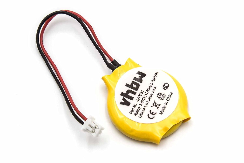 vhbw Li-Ion Bios Batterie 200mAh (3V) Notebook Laptop Lenovo Thinkpad T420si, T430s, T430si, T431s wie 4W3253. VHBW4251156562928
