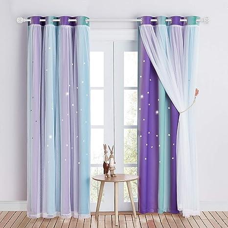 Curtain drapery Curtain hold back Window decorations Curtain tie backs Nursery decor Curtain ties Lilac decor Violet home decor