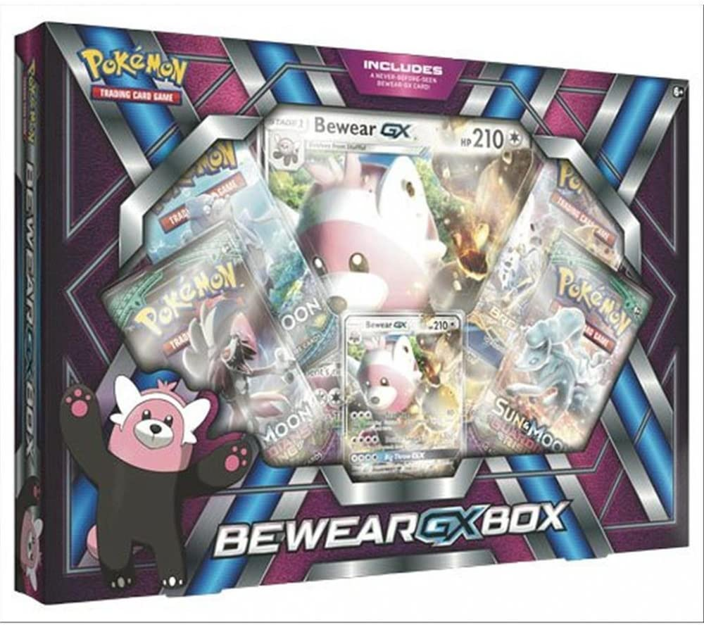 KONAMI Pokemon - Set Bewear-Gx Italiano: Amazon.es: Juguetes y juegos