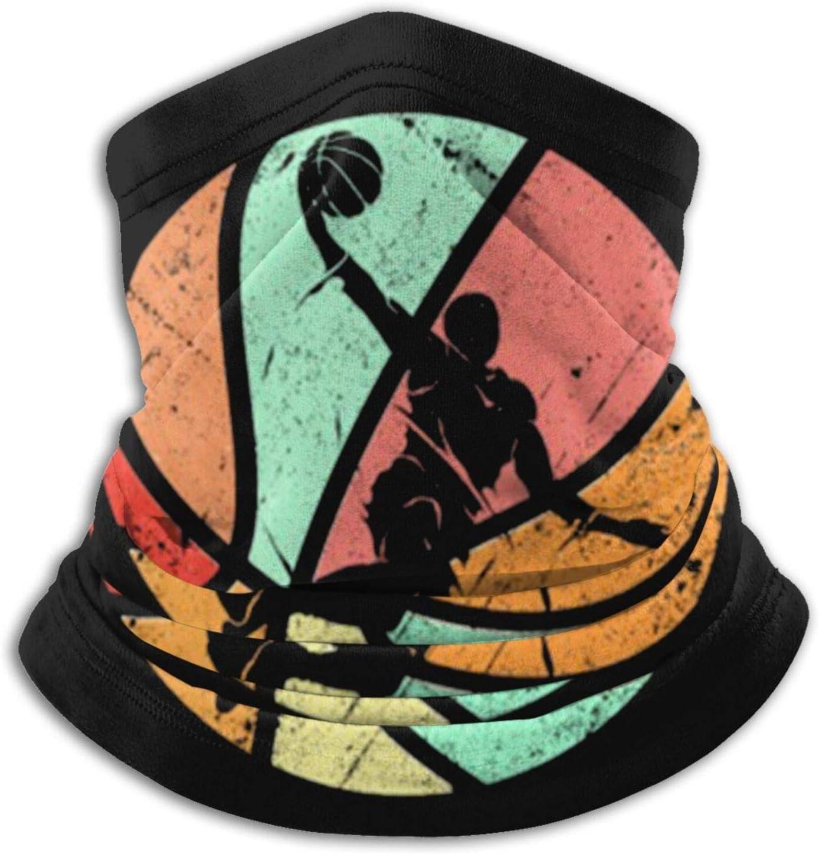 Overlooked Shop Scaldacollo Retro Giocatore di Basket Dunk Atleta Coprispalle Scaldacollo Passamontagna Multifunzionale Bandana Outdoor Mascherina
