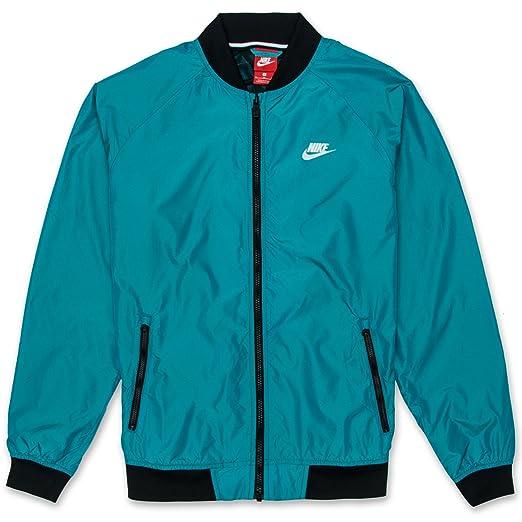 46549b53ee85 Amazon.com  NIKE Men s NSW Varsity Jacket BlueLacquer 924517-416 ...
