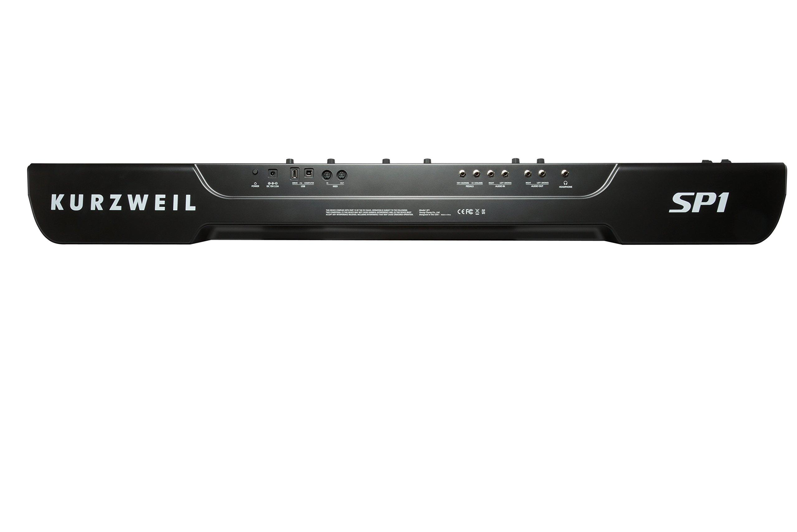 Kurzweil SP1 88-Key Stage Piano, Black (SP1-LB) by Kurzweil (Image #7)