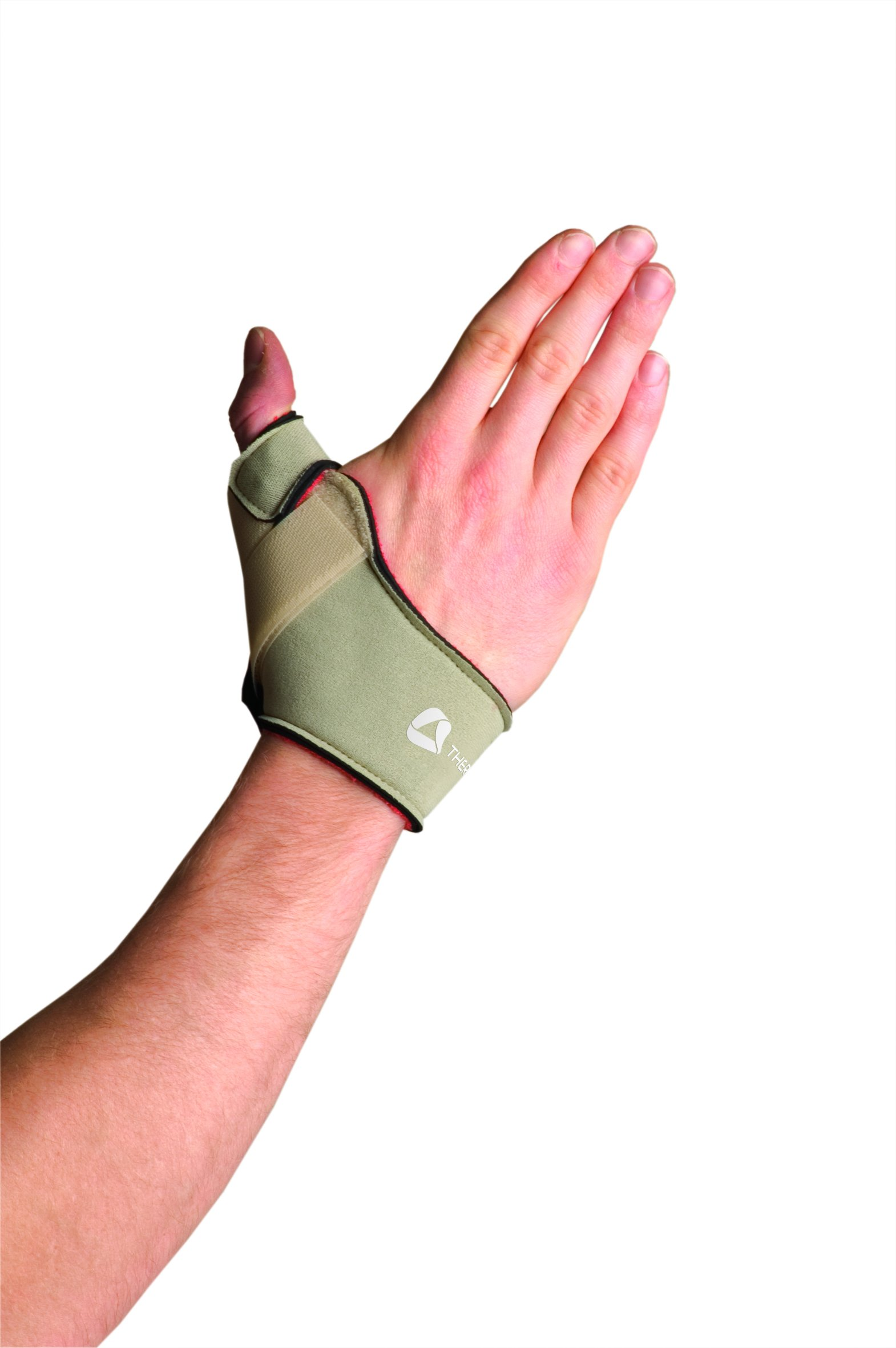 Thermoskin Flexible Thumb Right Splint, Beige, Medium