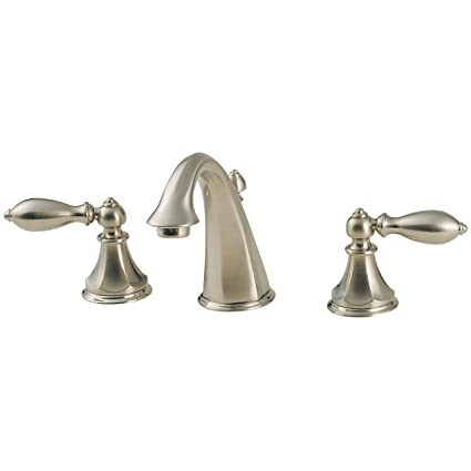 Pfister Catalina 2 Handle 8 Widespread Bathroom Faucet Brushed