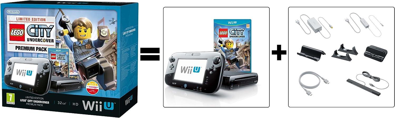 Nintendo Wii U - Consola Premium + Lego City Undercover: Amazon.es: Videojuegos