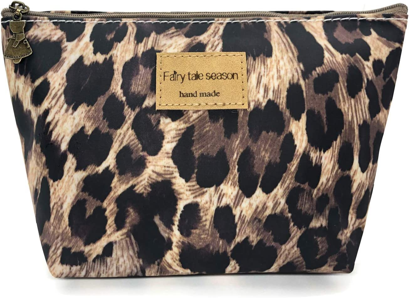 HUNGER Leopard Print Make-Up Cosmetic Tote Bag Carry Case, 14 Patterns (P1141704)