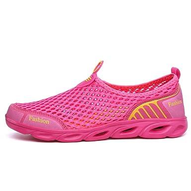 0a9066604825 Amazon.com  Aqua Sneakers for Women Rubber Sole Sport Shoes Female ...