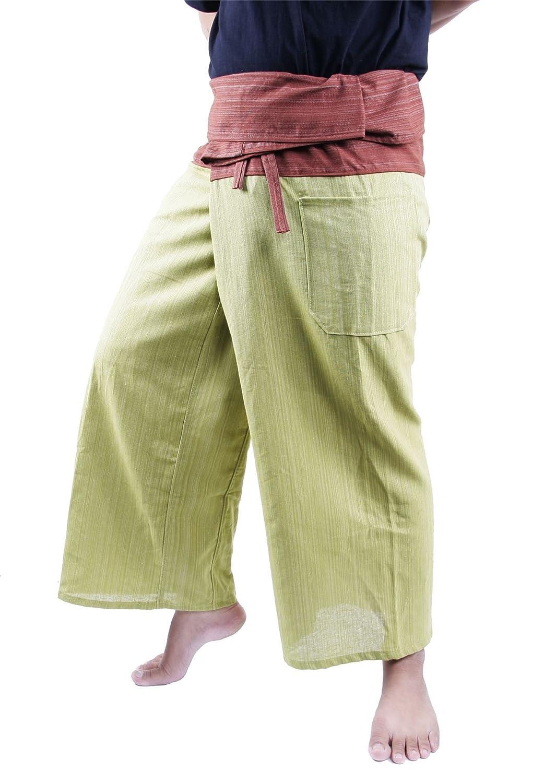 Lofbaz Hombre Pantalones Pescadores Dos Tonos