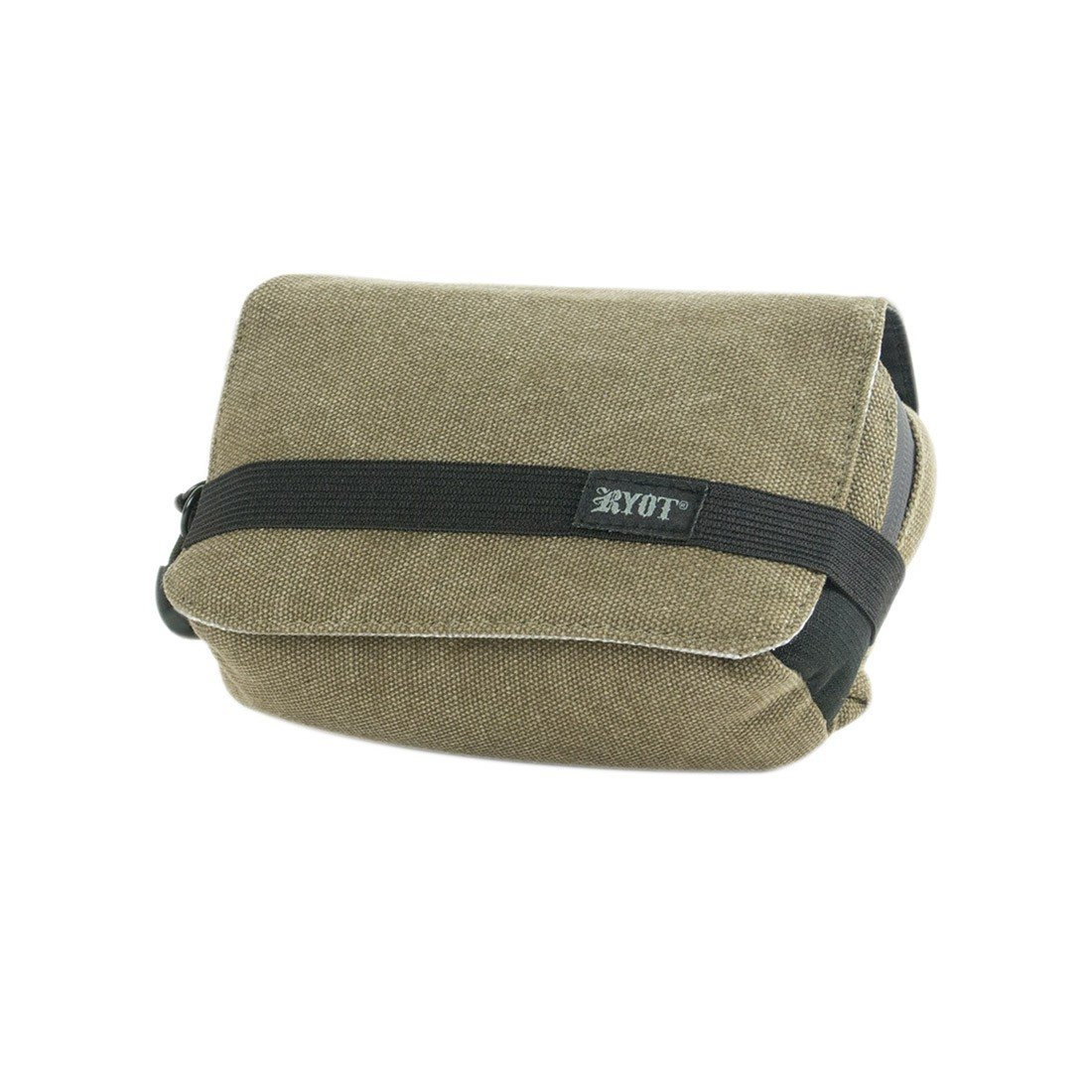 dac797b0096c RYOT Piper Case - Carbon Series with SmellSafe and Lockable Technology  (Olive, 7.5 x 3 x 5