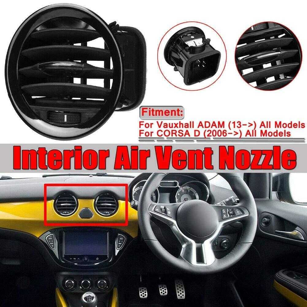 EPRHAY Grille de Ventilation pour Opel Adam//Corsa D MK3 Grille de Ventilation pour habitacle de Voiture